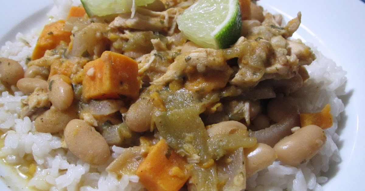 Chicken Chili with White Beans, Sweet Potato, and Lime | Gluten Free ...