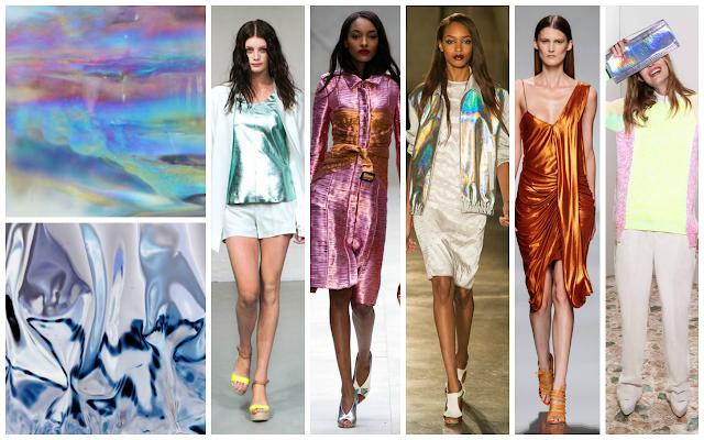 Hologram trend, catwalk, iridescent, metallic, SS 2013, Burberry, Jonathan Saunders