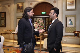 Mr. Tarun Shienh and Rahul Mishra - Fashion Designer
