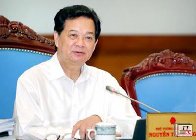 Thủ tướng Chính phủ Nguyễn Tấn Dũng chủ trì phiên họp Chính phủ thường kỳ.