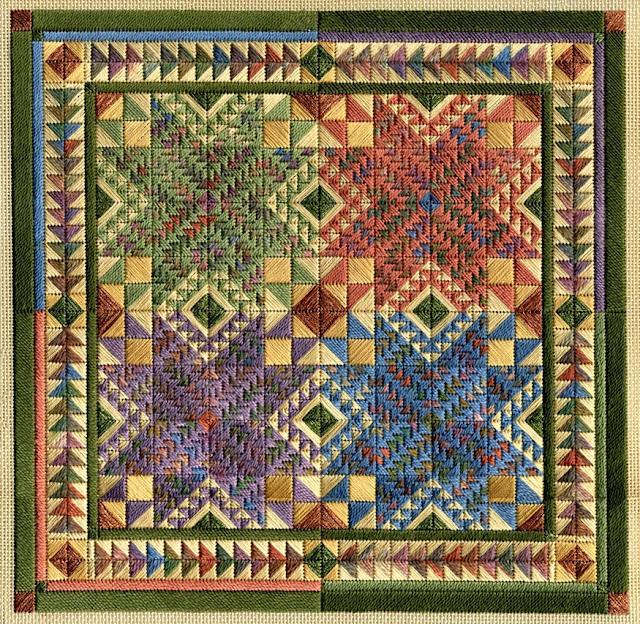 patchwork amerykanski