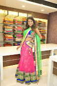 Anukruthi Glam pics in half saree-thumbnail-6