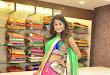 Anukruthi Glam pics in half saree