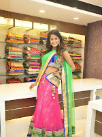 Anukruthi Glam pics in half saree-cover-photo