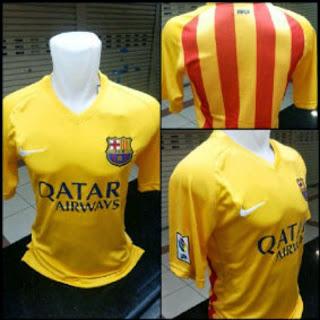 jual online jersey bola barcelona away leaked terbaru musim depan 2015/2016