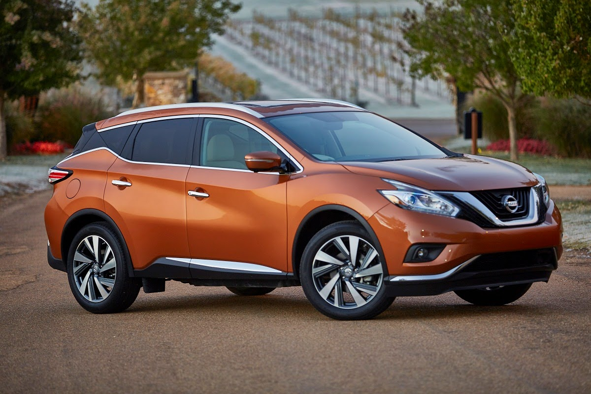 nissan announces 2015 murano u s pricing car reviews new car pictures for 2018 2019. Black Bedroom Furniture Sets. Home Design Ideas