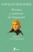 napoleon bonaparte maximas y sentencias del emperador