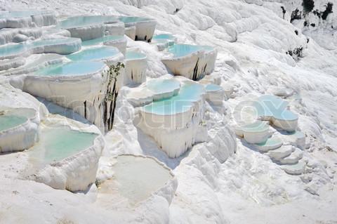 Natural Rock Pools, Pamukkale, Turkey - Facts Pod
