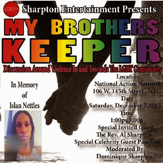 My Brothers Keeper Panel Discussion