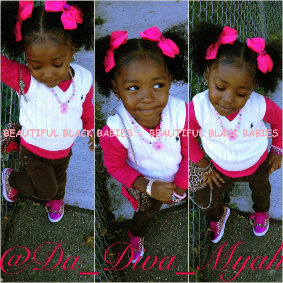 Here is a collection of beautiful pretty gorgeous funny cute and adorable black babies