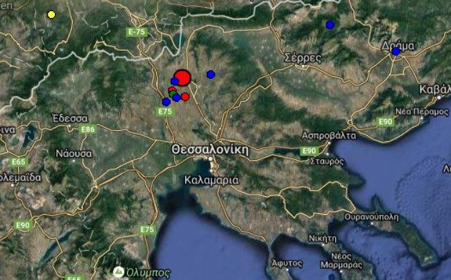 Μεγάλος σεισμός στο Κιλκίς - Κουνήθηκε η Θεσσαλονίκη