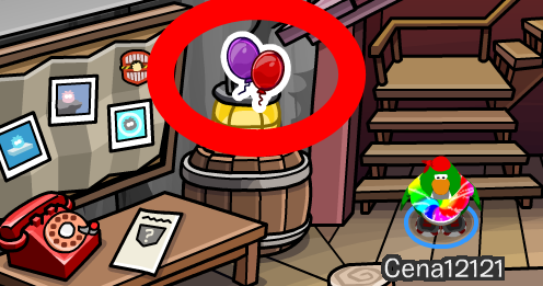 Club Penguin Anniversary Balloons Pin Cheat