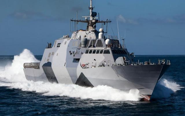 Buque de combate litoral de la Clase Freedom fabricados por Lockheed Martin.