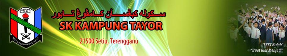 Sekolah Kebangsaan Kampung Tayor, Setiu.