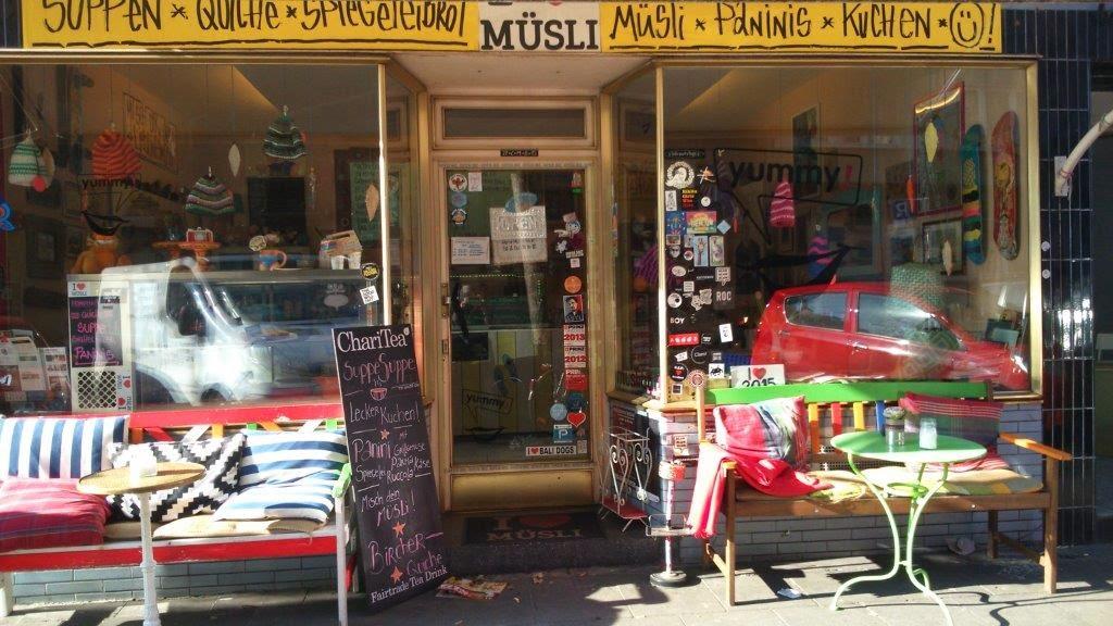 Frühstücken Suppe Paninis Kuchen Torte Cafe Kaffee belgisches Viertel köln gemütlich