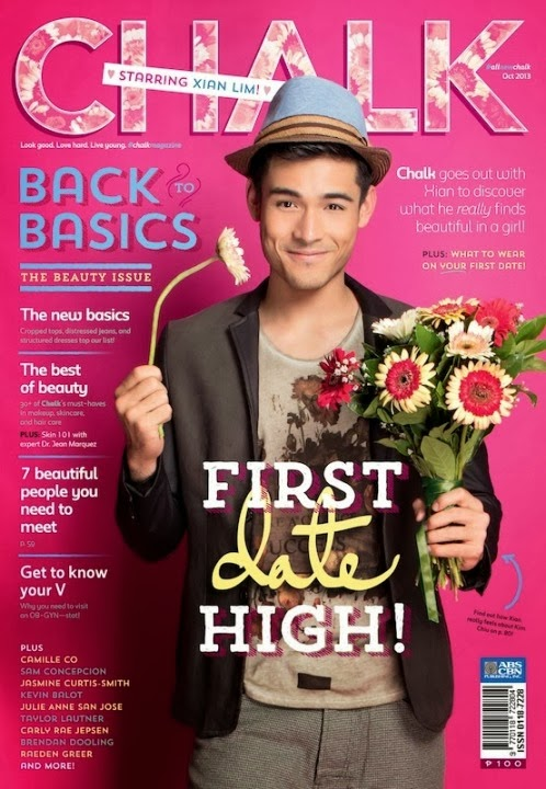 Xian Lim Covers Chalk Magazine October 2013