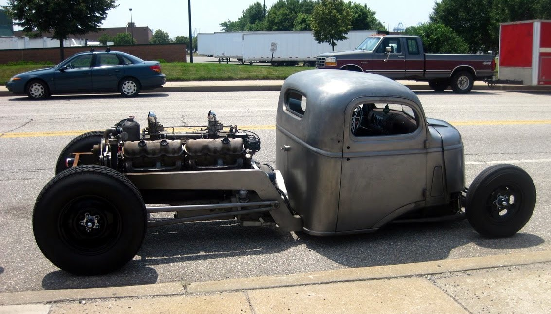 Just a car guy  Pat McNeals 1942 GMC COE with a factory GMC V12