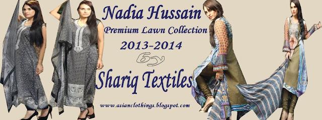 Nadia Hussain Lawn 2013