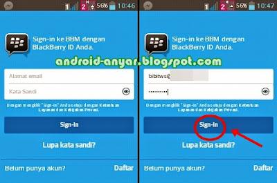 Membuka PIN BBM Android yang Lama