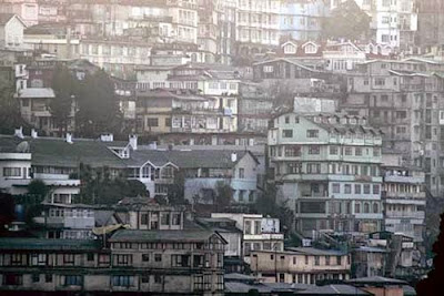 High Building in Darjeeling Town