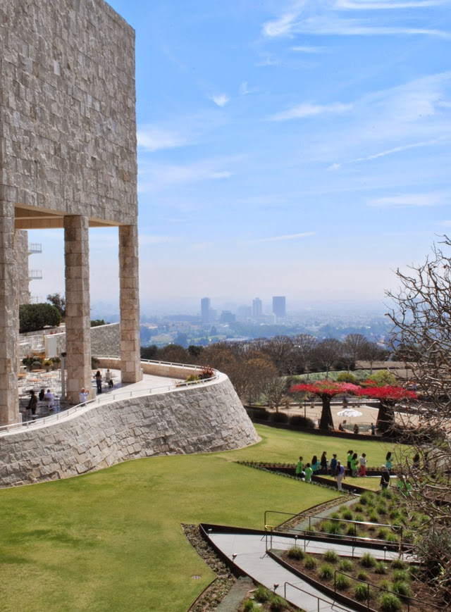 Visiting the J. Paul Getty Museum in Los Angeles | Em Then Now When