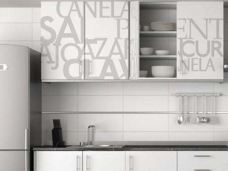 Living deco and style vinilos en la cocina - Vinilo muebles cocina ...