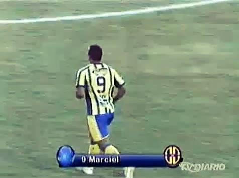 Confira os dois gols de Marciel contra o Ferroviário  - 15/02/14