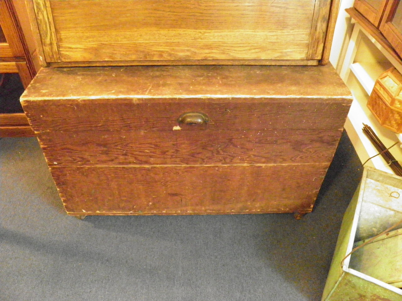 Sturdy Antique trunk 195.00