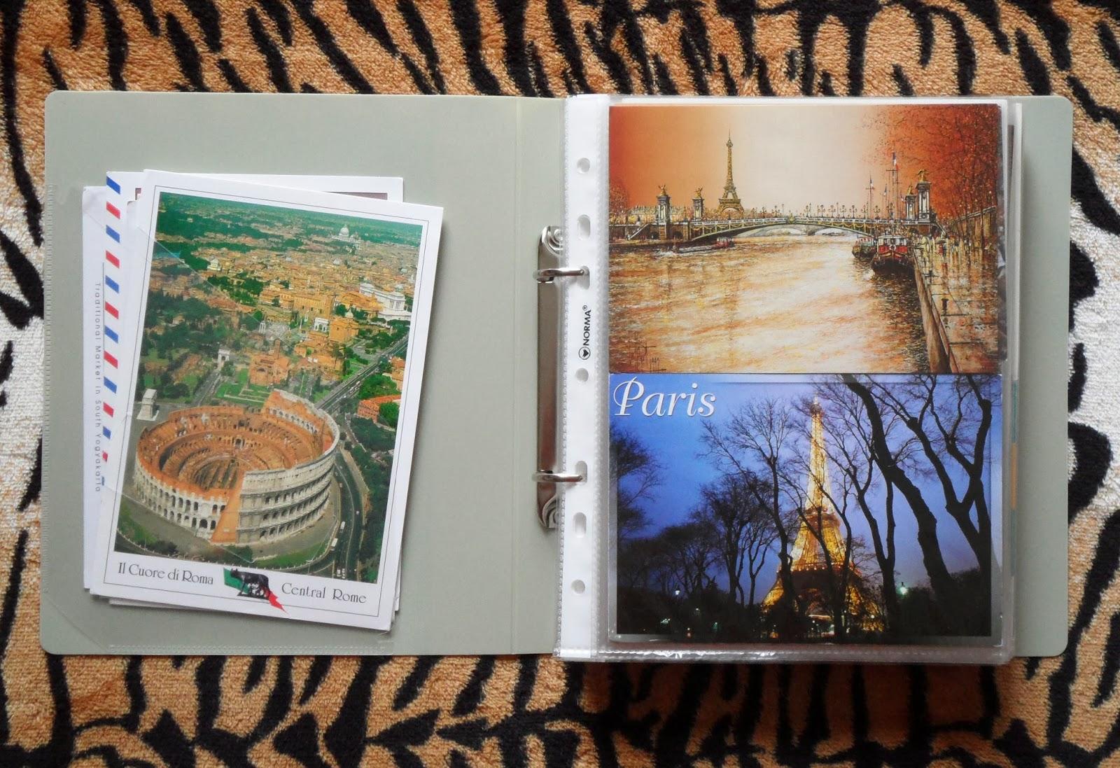 Как хранить открытки 67