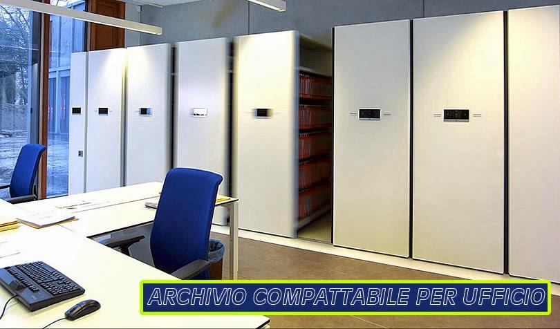 Armadio Archivio Ufficio : Fornitura e riparazione archivi compattabili scaffalature