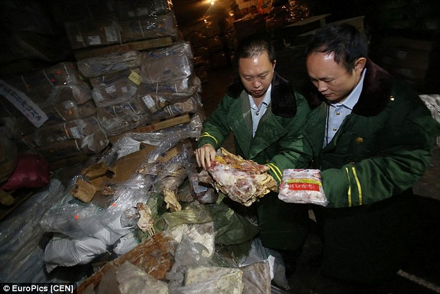 Chinese Vendors Selling 40-year-old Frozen Zombie Meat