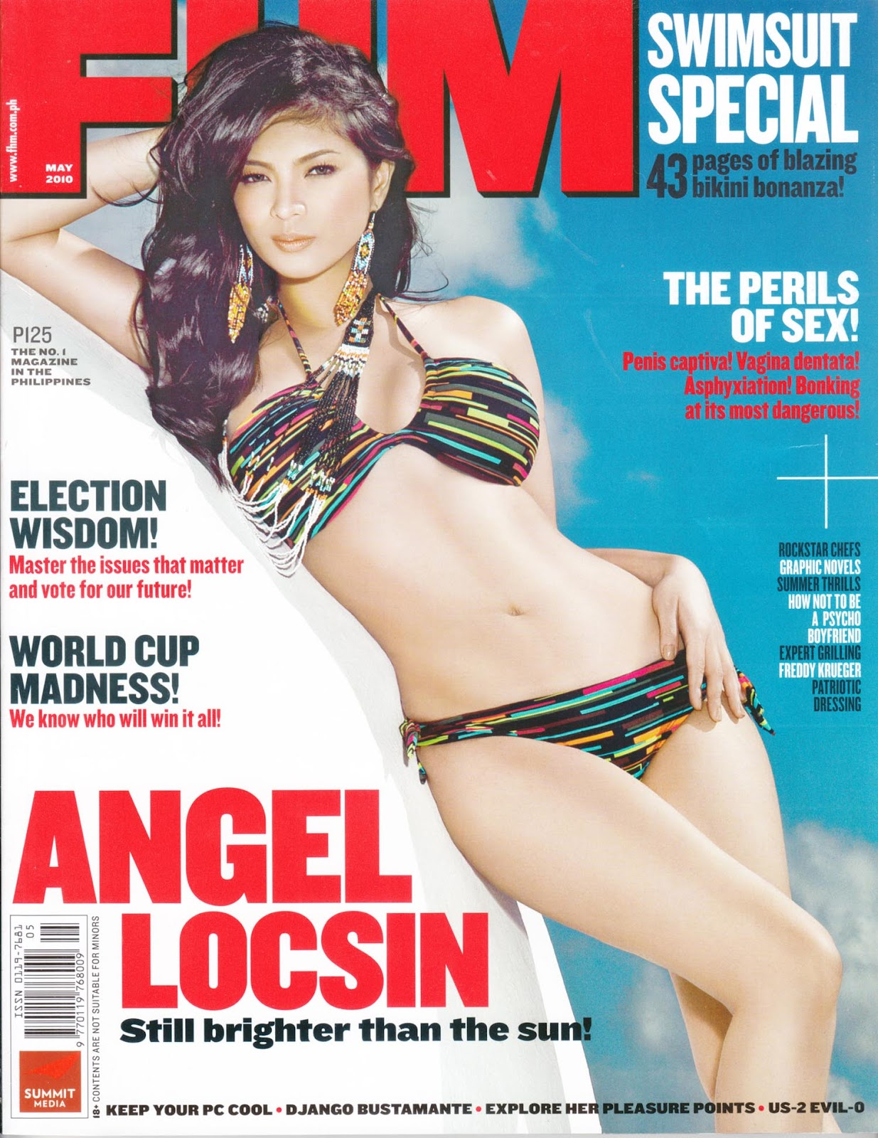 angel locsin fhm cover sexy photo