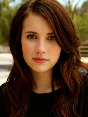 Emma Roberts long wavy hairstyles