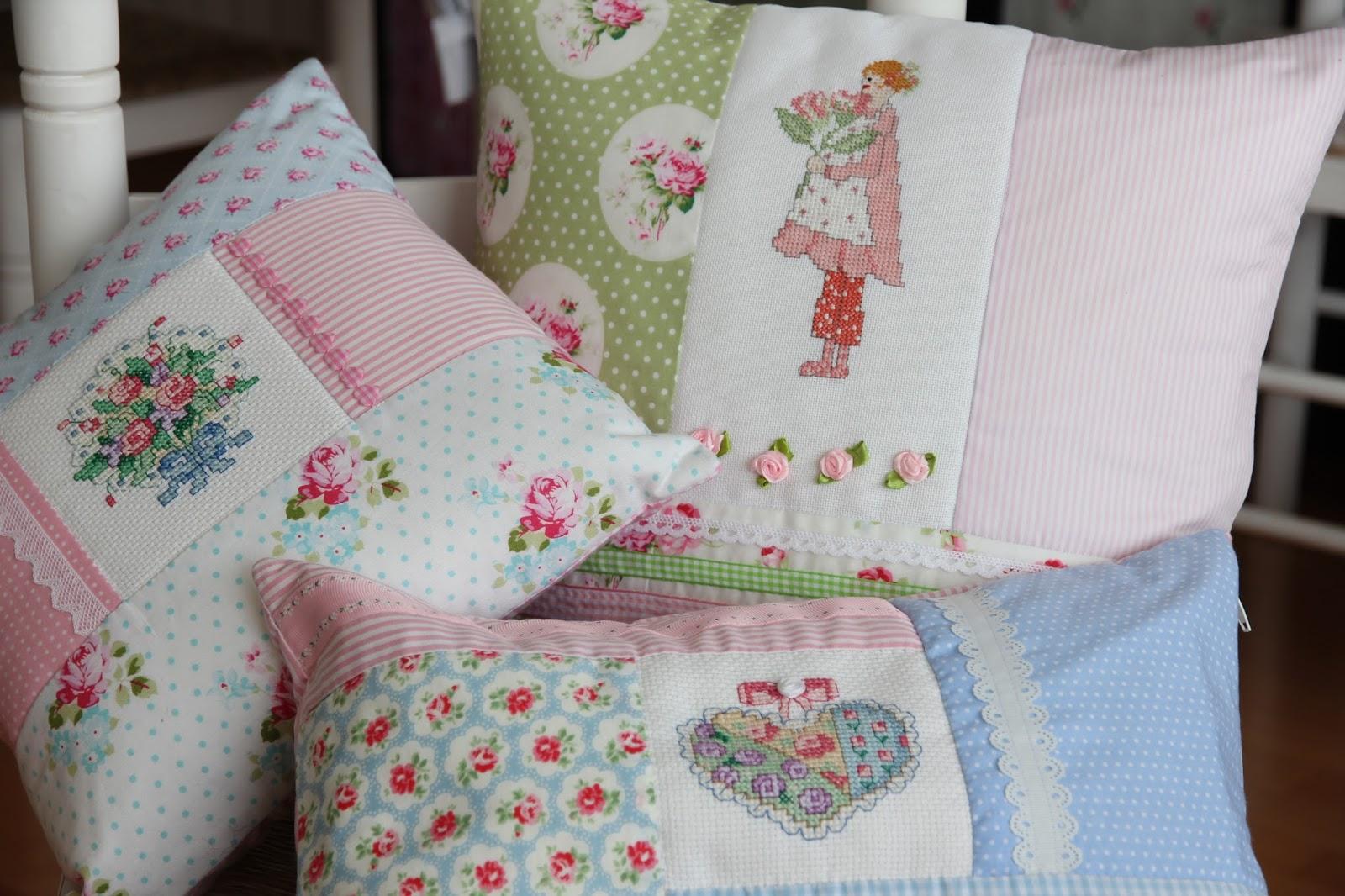 mi hogar de patchwork cojines de patchwork rom nticos