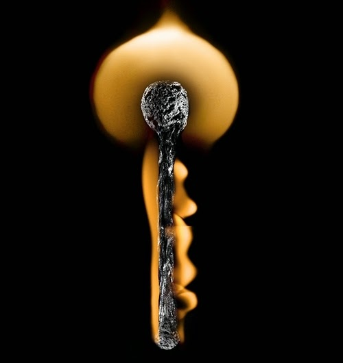 19-Match-Key-Flame-Russian-Photographer-Illustrator-Stanislav-Aristov-PolTergejst-www-designstack-co
