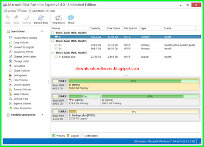 Serial Macrorit Disk Partition Expert 3.9 Unlimited Edition