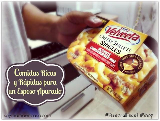 Velveeta Cheese Skillets Singles #PersonalFeast #Shop ricas comidas