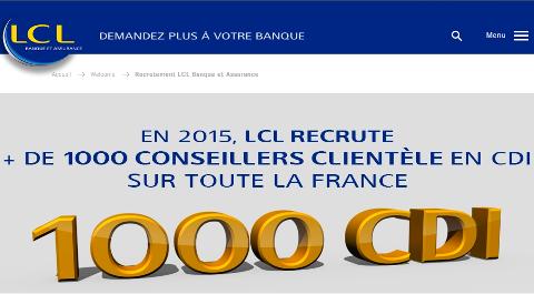 Recrutement LCL