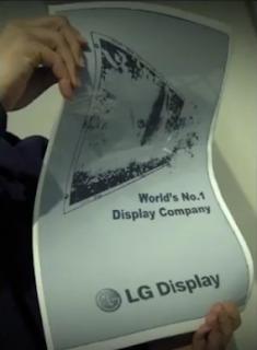 LG écran flexible