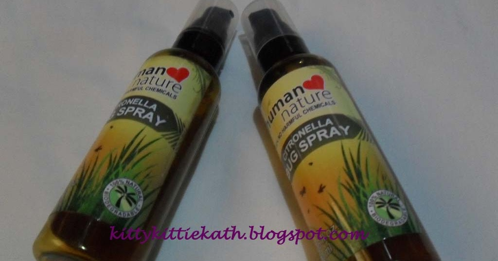 Human Nature Citronella Bug Spray Review
