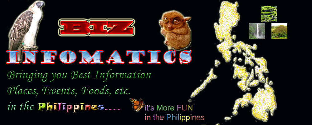 Biz Infomatics: Places, Events, Foods in the Philippines