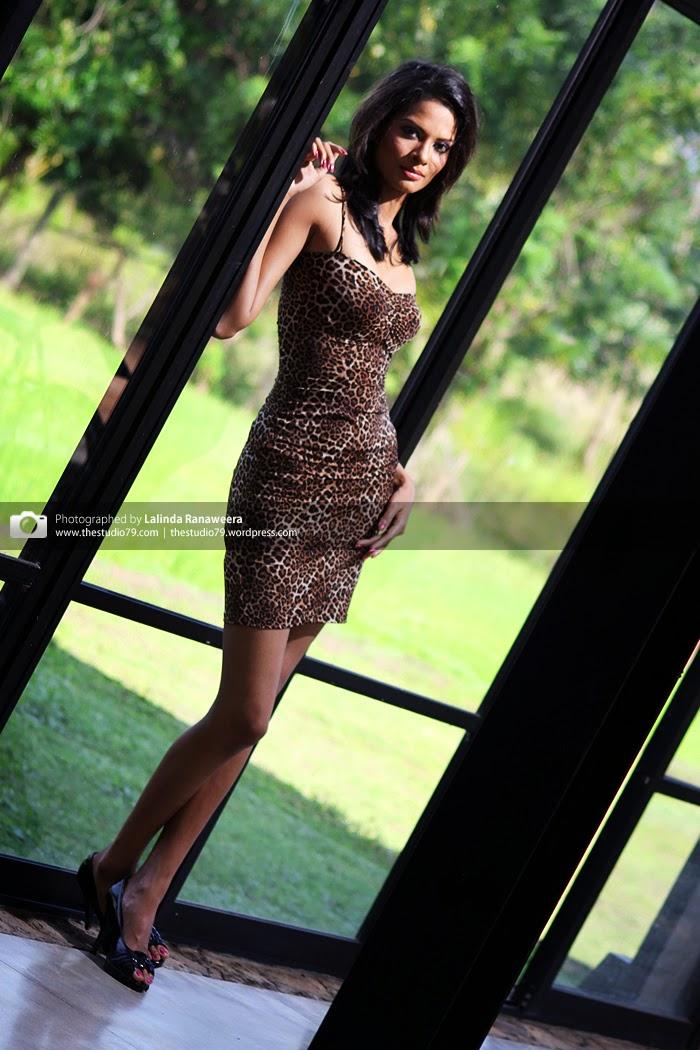 Charitha Waidyasiri short dress