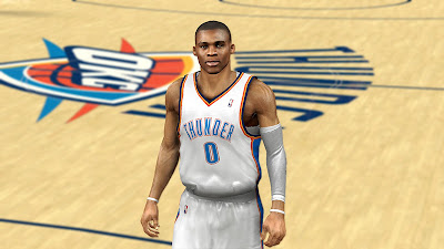 NBA 2K13 Russell Westbrook Cyberface Update