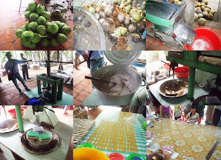 The Making of Coconut Candy