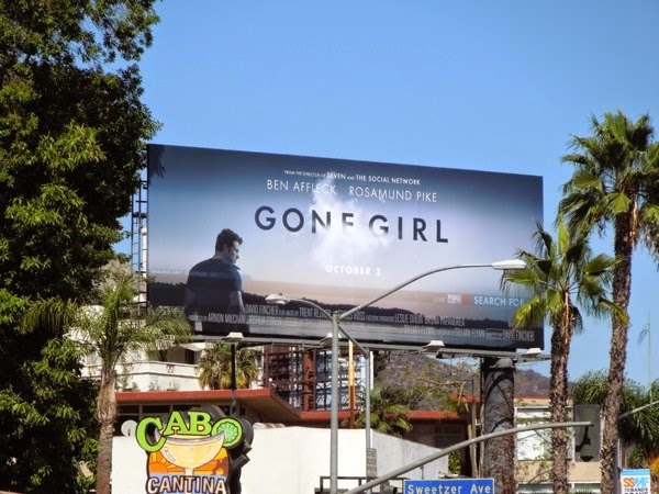 Gone Girl film billboard