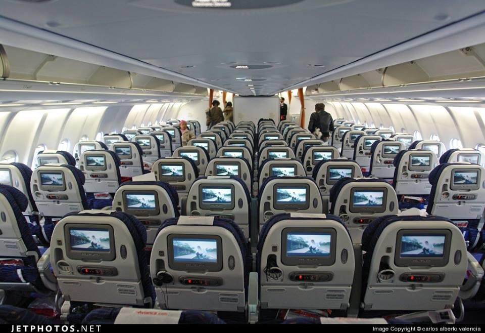 Monorichard spotters interior de un airbus a330 200 de for Interior 787 air europa
