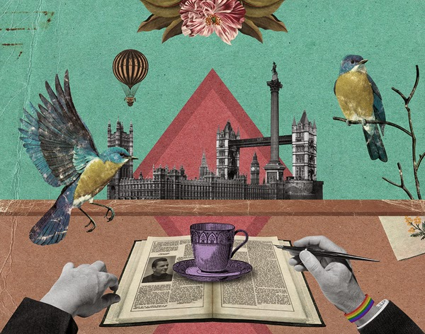 Randy Mora. Collage Artwork