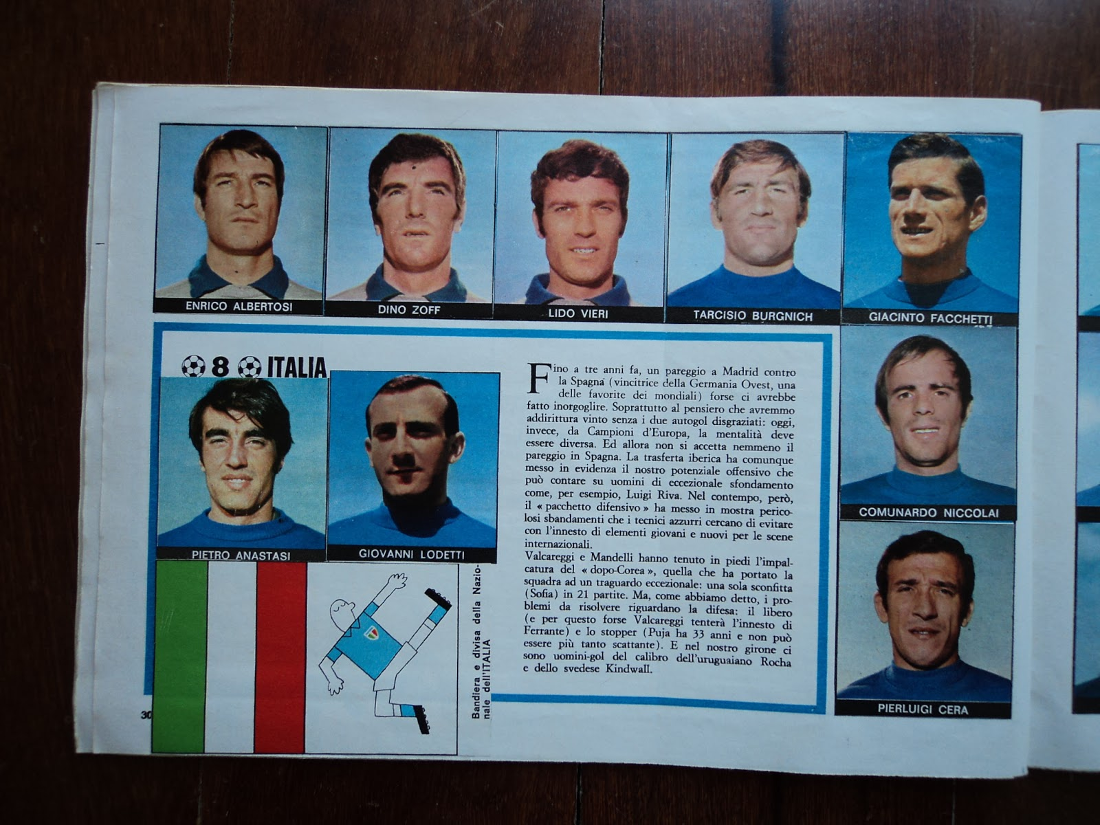 World Cup Albums 1970 Mexico R Corriere