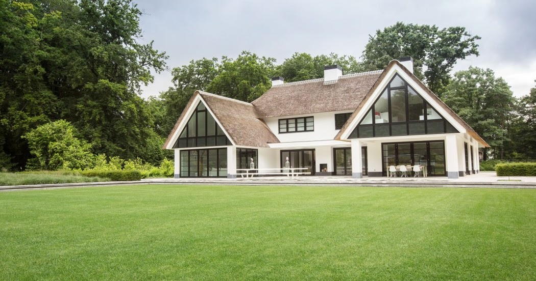 Romantic modern country house design viral journal for Contemporary country homes designs