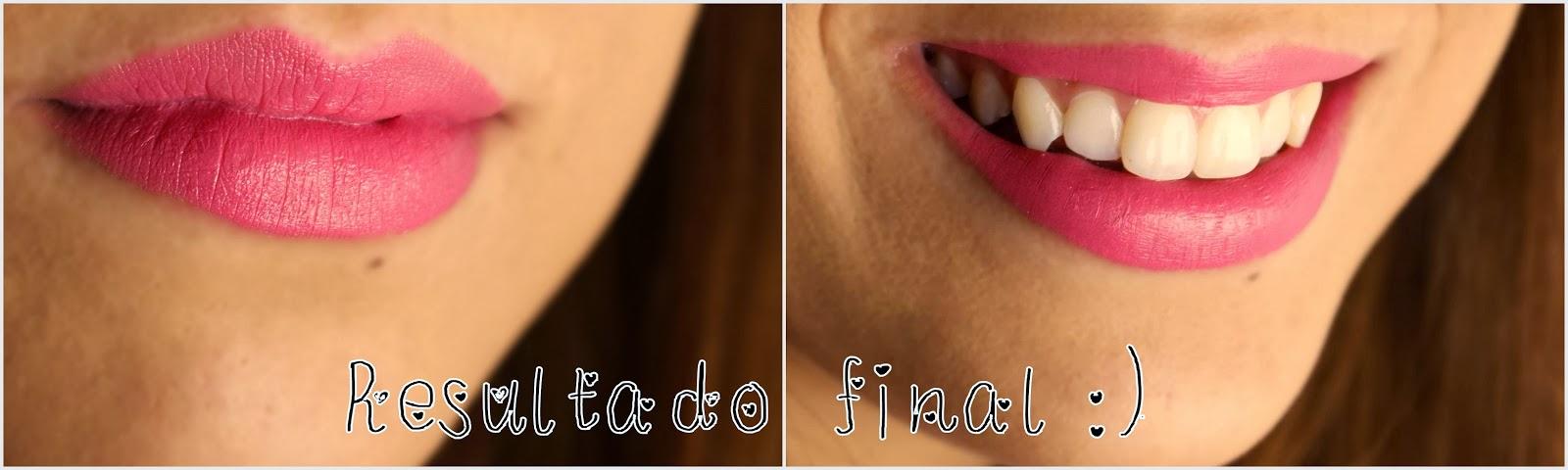 lábios esfoliados